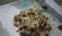 Risotto funghi e Castelmagno