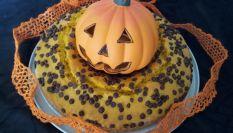 Torta zucca e gocce di cioccolato