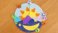 Creare un orologio per bimbi con le fasi della giornata