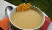 Crema di lenticchie e arancia
