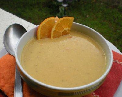 Crema di lenticchie e arancia, un primo piatto saporito e nutriente