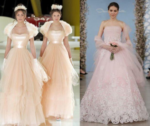529233acbab9 Abiti da sposa 2014  i colori più trendy