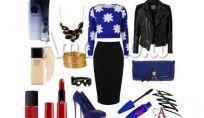Look della settimana: aspettando il Natale in black & blue