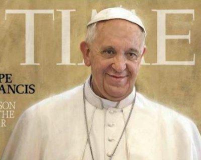 Papa Francesco è l'uomo dell'anno!