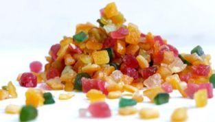 Frutta candita: proprietà e calorie
