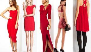 5 abiti rossi per Capodanno 2014