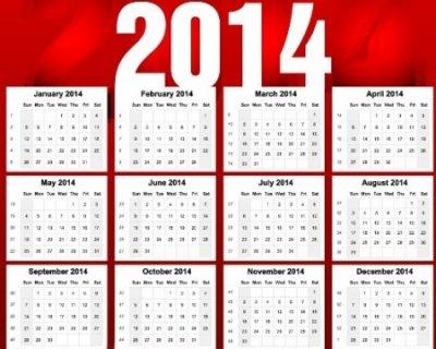 Calendario Anno 2014.Calendario Per Il 2014 Quale Scegliere