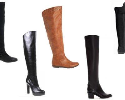5 stivali overknees per l'inverno 2014