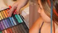 Hair chalk, colorati i capelli con i gessetti