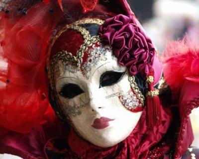 Maschere veneziane for Maschere di carnevale classiche