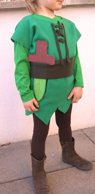 ma non volgare spedizioni mondiali gratuite modelli alla moda Costume da Peter Pan fai da te per bambini