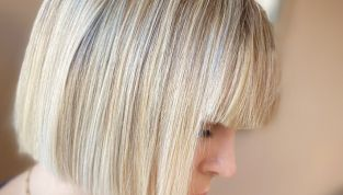 Frangia per la moda capelli primavera/estate 2014