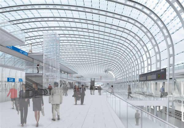 Nuova stazione Porta Susa Torino