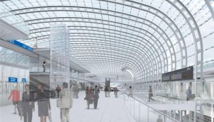 Nuova stazione di Porta Susa a Torino