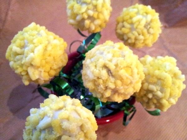 Cake Pops Mimosa Per Festeggiare In Dolcezza L8 Marzo