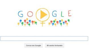 Il Doodle per la Festa della donna: 100 personaggi per dire 'Auguri'