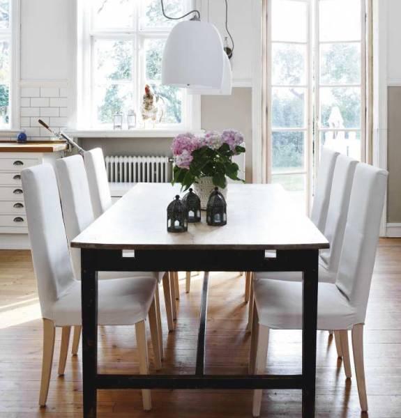 Come arredare in stile nordico un look pulito e sobrio - Tavolo scandinavo ...