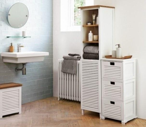 Come arredare in stile nordico un look pulito e sobrio - Quadri in bagno ...