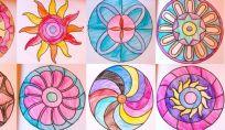 Mandala per bambini da stampare e colorare