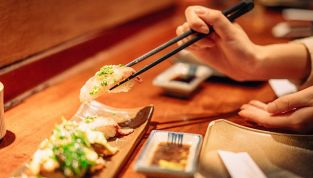 Frushi, il sushi a base di frutta