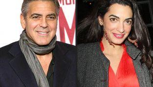 George Clooney pazzo dell'avvocato Amal Alamuddn