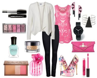 Look della settimana rosa confetto