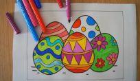 Disegni di Pasqua da stampare e colorare