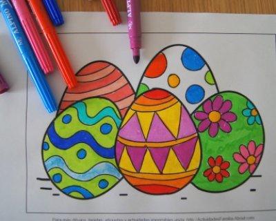 Disegni di pasqua da scaricare e colorare - Stampabili per bambini gratis ...