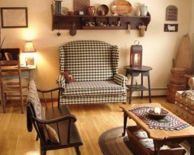 Arredamento stile country una casa dal sapore rustico e - Casa shabby chic country ...