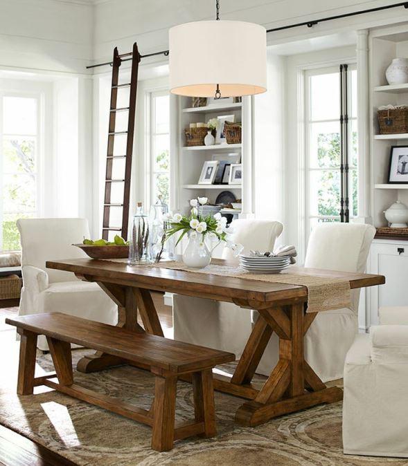Arredamento stile country una casa dal sapore rustico e for Console per salotto