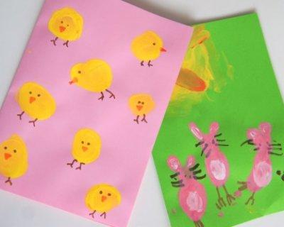 Idee Biglietti Di Natale Originali.Simpatici Biglietti Di Pasqua Da Realizzare Con I Bambini