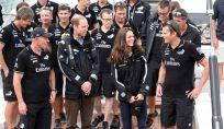 Kate Middleton e il principe William si danno allo sport in Nuova Zelanda