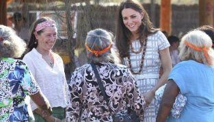 Kate Middleton e il principe William alla scoperta di Ayers Rock