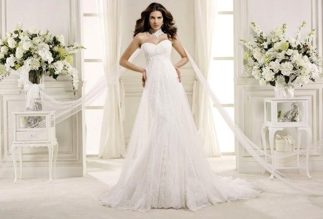 96e7f685327b Scegliere l abito da sposa in base al fisico  i consigli - abiti da ...