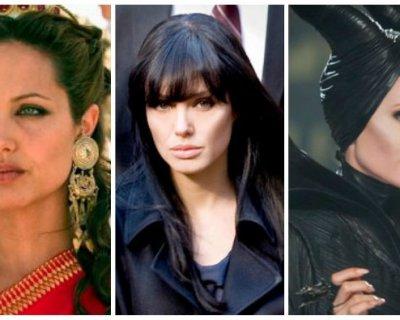 Tutte le trasformazioni di Angelina Jolie