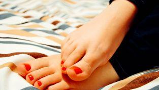 Piedi a prova di... sandali