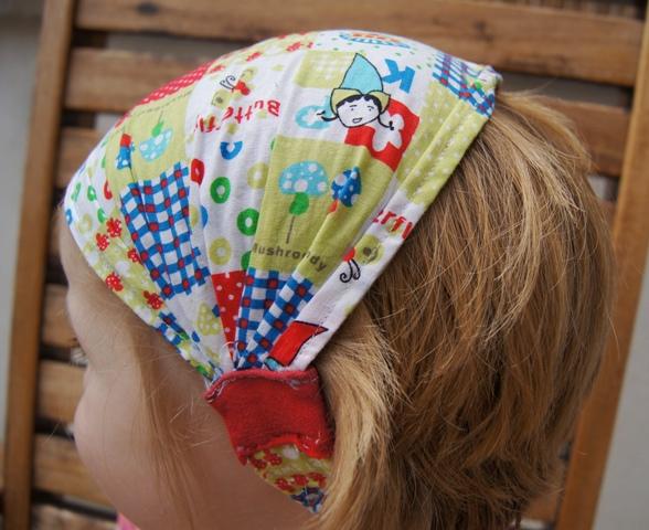 7f3333dab77d Tutorial per fare una bandana elasticizzata per bambine