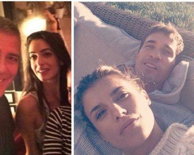 """12 settembre 2014: Clooney e Canalis dicono """"sì"""""""
