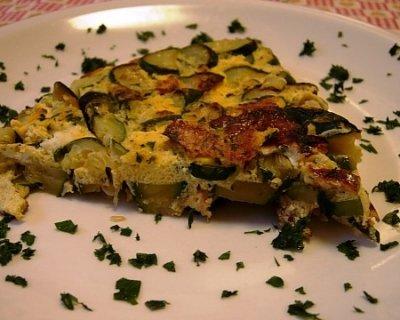 Frittata di zucchine, gusto e semplicità