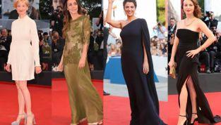 Festival del Cinema di Venezia 2014: i look delle star nel weekend