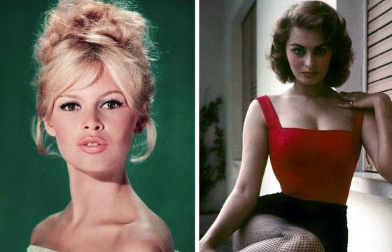 Brigitte Bardot e Sophia Loren: le due icone che hanno fatto la storia
