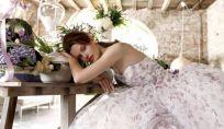 Abiti da sposa floreali 2015: la tendenza romantica