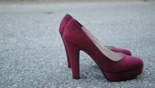 Scarpe burgundy per l'autunno 2014