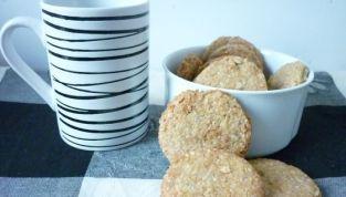 Biscotti alla crusca d'avena