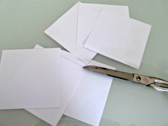 Fiocchi Di Neve Di Carta Da Ritagliare Tutorial : Come fare fiocchi di neve con la carta per bambini non sprecare