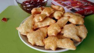 Biscotti di pastasfoglia per Natale