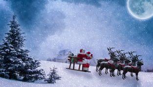 I nomi delle renne di Babbo Natale e la loro leggenda