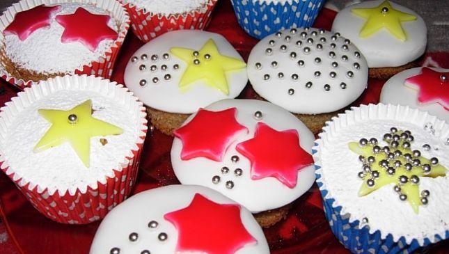 Cupcakes natalizi, graziosi dolcetti per le feste