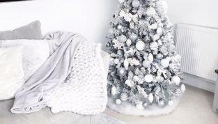 Albero di Natale bianco: spunti e idee