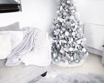 Albero Di Natale Bianco.Albero Natale Bianco
